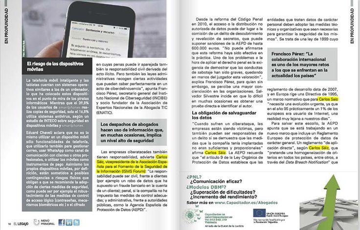 """Nuestro Socio Carlos A. Sáiz habla sobre """"la otra cara de los ciberataques"""" en esta publicación del ICAV."""