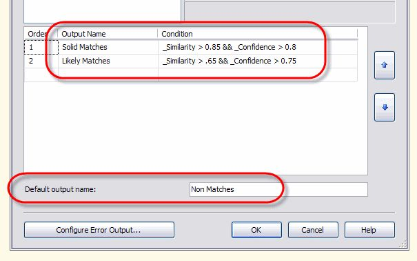 Using Fuzzy Lookup Transformations in SQL Server Integration Services