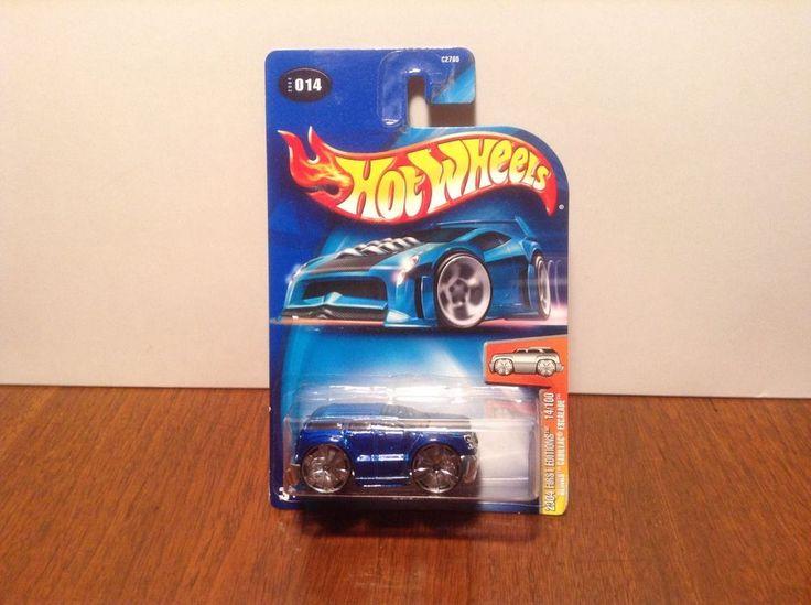 Hot Wheels Blings Cadillac Escalade #14 2004 First Editions #14 of 100 Blue SUV #HotWheels #Cadillac