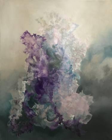 "Saatchi Art Artist Aria Dellcorta; Painting, ""The Essence"" #art #artist #energy #painting #artforsale #gallery #soul #academicart #myart #original #interiordesign"