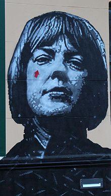 Klagenfurt - Musilhaus - Ingeborg Bachmann.jpg (1926–1973), Austrian poet, playwright and novelist.