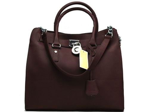 MICHAEL KORS Hamilton Large Tote Chocolate - <3 Cheap Michael Kors Bags Outlet Online, You Can Get It At www.mkbagspro.com.