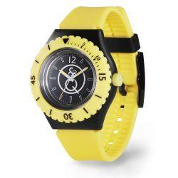Q&Q unisex RP04J002 SmileSolar horloge kunststof 20 ATM
