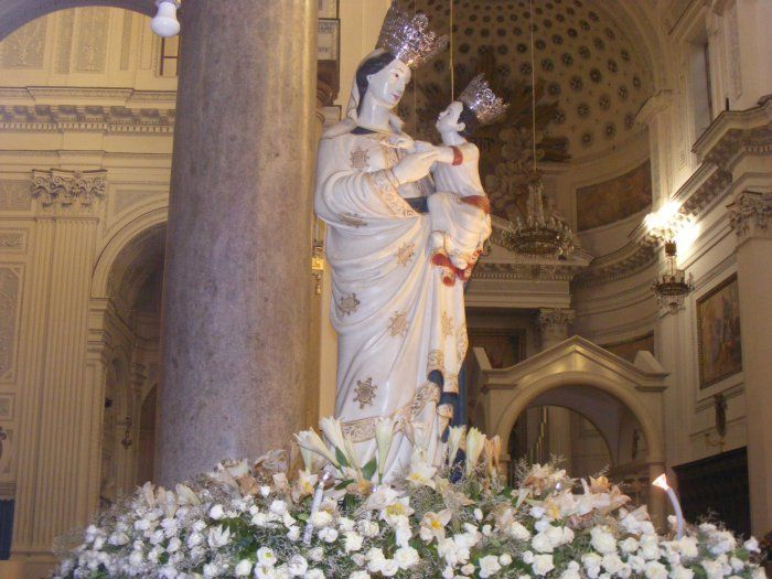 Madonna di Trapani - Patrona della città di Trapani e della Diocesi - Siciliafan