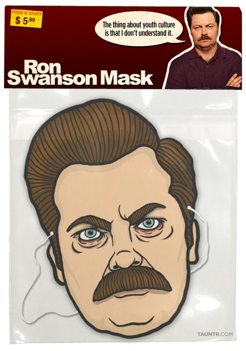 Free Download: Printable Ron Swanson Mask » Man Made DIY   Crafts for Men « Keywords: humor, download, printable, tvRon Swanson, Diy Crafts, Halloween Costumes, Swanson Masks, Funny Celebrities, Ronswanson, Costumes Ideas, Funny Costumes, Halloween Masks