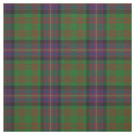 Clan Cochrane Cochran Scottish Tartan Plaid Fabric Fabriccrafts Diyprojects