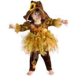 Princess Paradise SCOUT the SCARECROW Costume Baby Toddler: 6 9 12 18