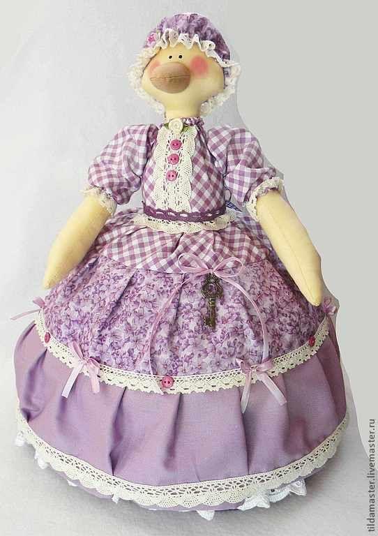 Купить Гусыня - грелка на чайник - грелка на чайник, кукла-грелка, Гусыня, грелка гусыня