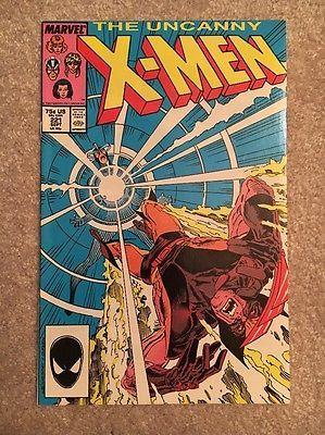 Uncanny-X-Men-221-NM-1st-Mr-Sinister-1st-Print-Marvel-Comics