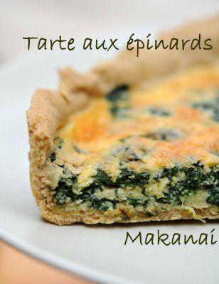 tarte aux Épinards frais pinterest'te hakkında 1000'den fazla