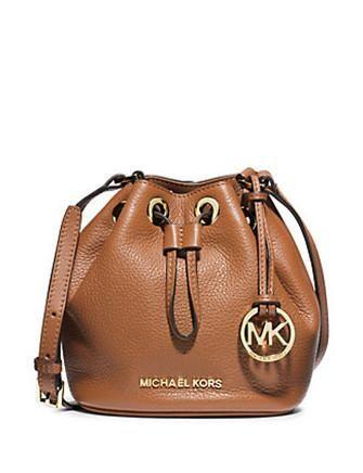 40b927349b6a Michael Michael Kors Small Jules Leather Drawstring Crossbody   Bags ...