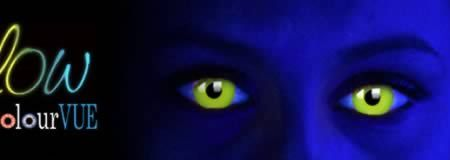 UV Contact Lenses- get the coolest look!