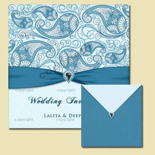 Indian Wedding Invitation Card Design 56 Cover