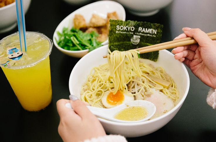 We don't care how warm it is, we can work through the sweats when Sydney's best ramen is involved.