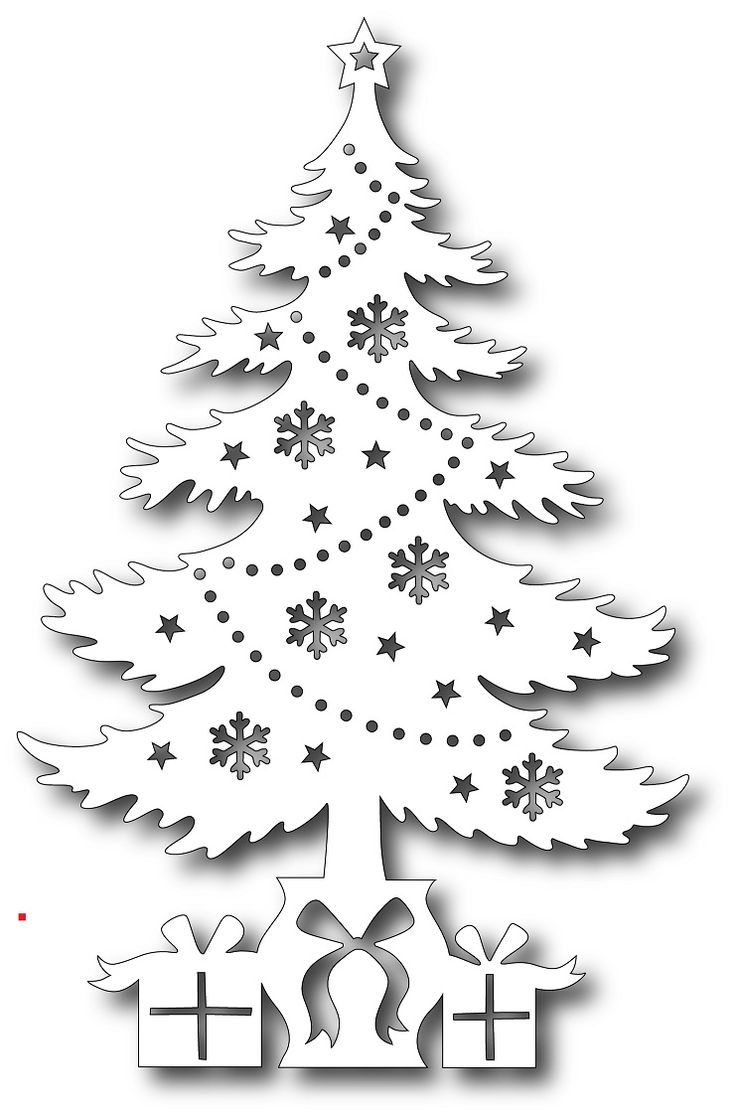 Tutti Designs - Cutting Die - Gifts Under The Tree