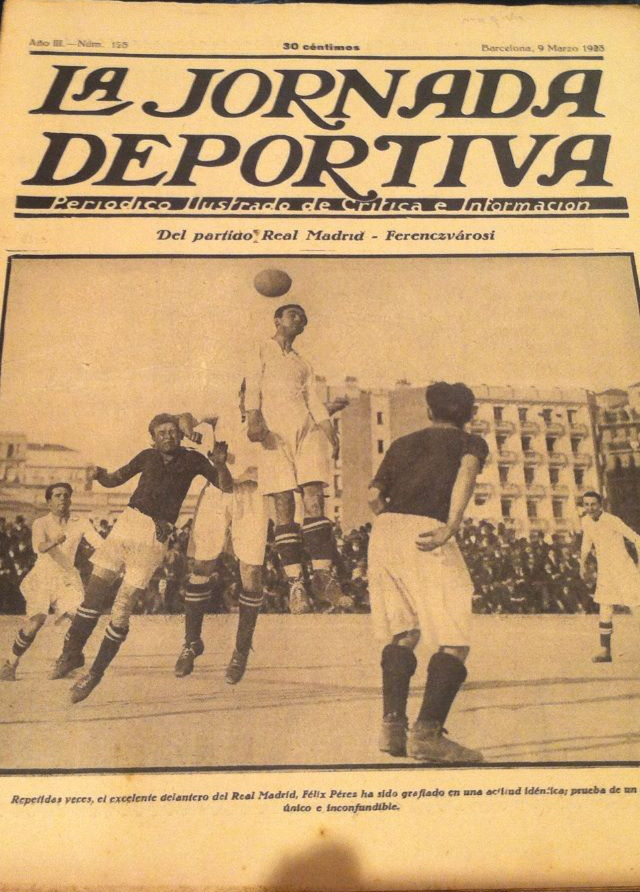 Real Madrid vs Ferencvaros 1923