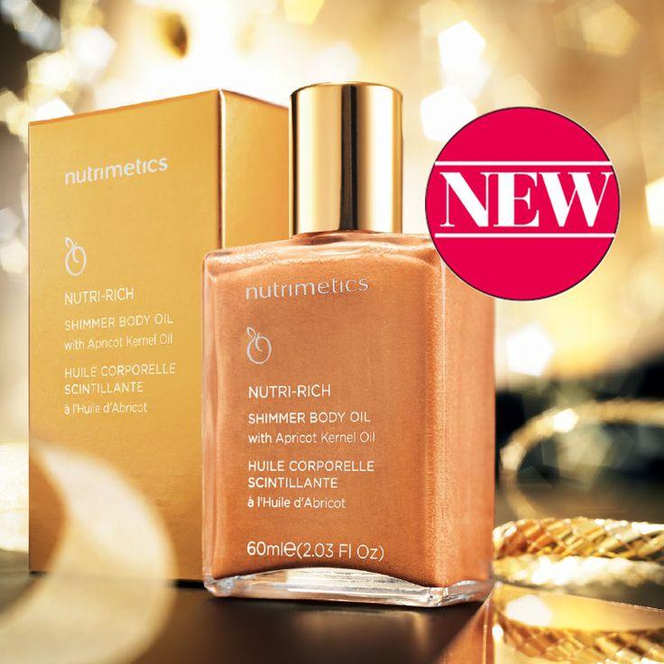 Nutri-Rich Shimmer Body Oil 60ml