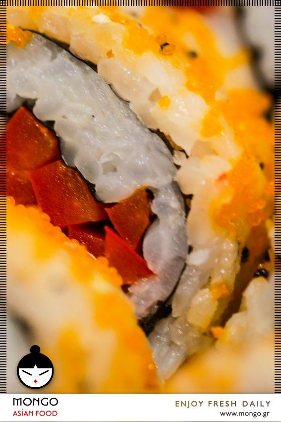 Απολαύστε την μεγάλη #ποικιλία #sushi γεύσεων από τον… πολύχρωμο μπουφέ του #MongoAsianFood, καθώς ξεδιπλώνονται μπροστά σας οι ψαγμένες προτάσεις μίας ξεχωριστής #γαστρονομικής κουλτούρας. Κάθε επίσκεψη στα #Mongo_Asian_Food είναι μία μικρή, καθημερινή «γιορτή» γεύσεων. Tο sushi στα καλύτερά του! #Κατακτήστε #το! Mongo Asian Food / enjoy / fresh / daily / [order online: www.mongo.gr]