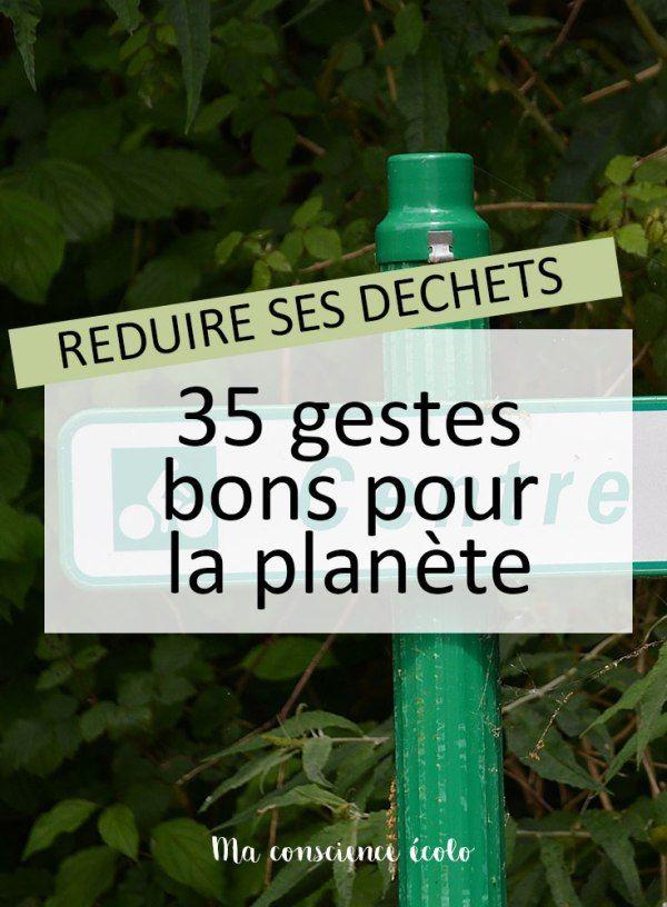 Commencer à agir pour la planète avec ces 35 gestes écolos !