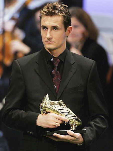 Miroslav Klose // Golden Boot!