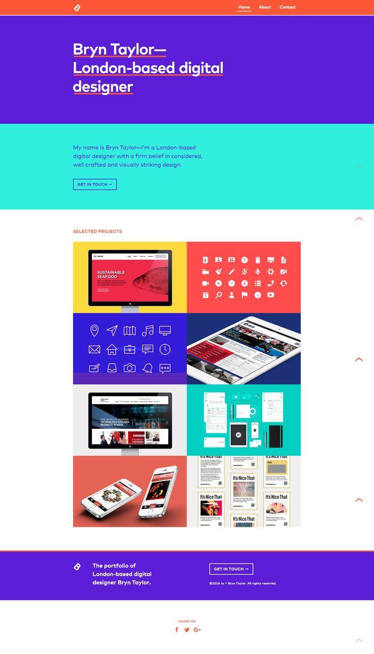 851 best Web & Graphic Design images on Pinterest | Web design ...