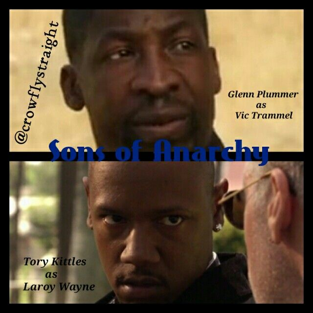 In recognition of fan page #blackhistory month shoutout to our first Sons of Anarchy black characters S1E1-Pilot Glenn Plummer and Tory Kittles   #throwbackThursday