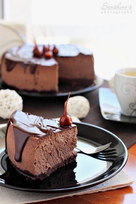 chocolate hazelnut cheesecake chocolat cheesecake chocolate mouse cake ...