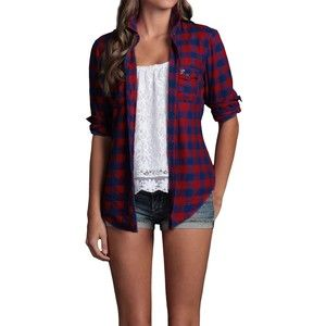 Hollister Co Pacific Flannel Shirt