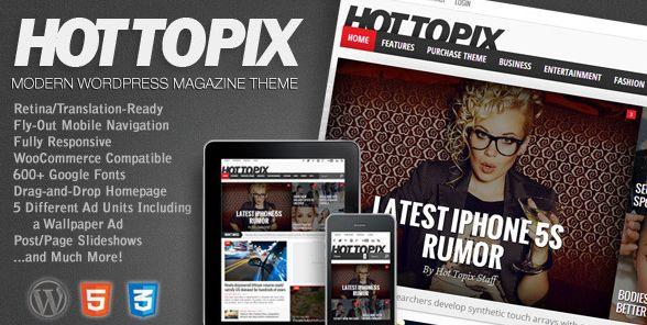 Themeforest – WordPress: Deadline – Responsive WordPress News  Magazine Theme on Themeforest Free Download http://themeforestfreedownload.com