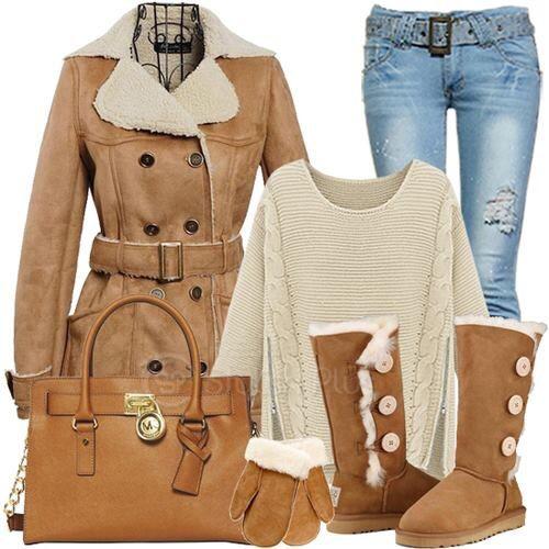 Para un día frío pero con estilo !!!