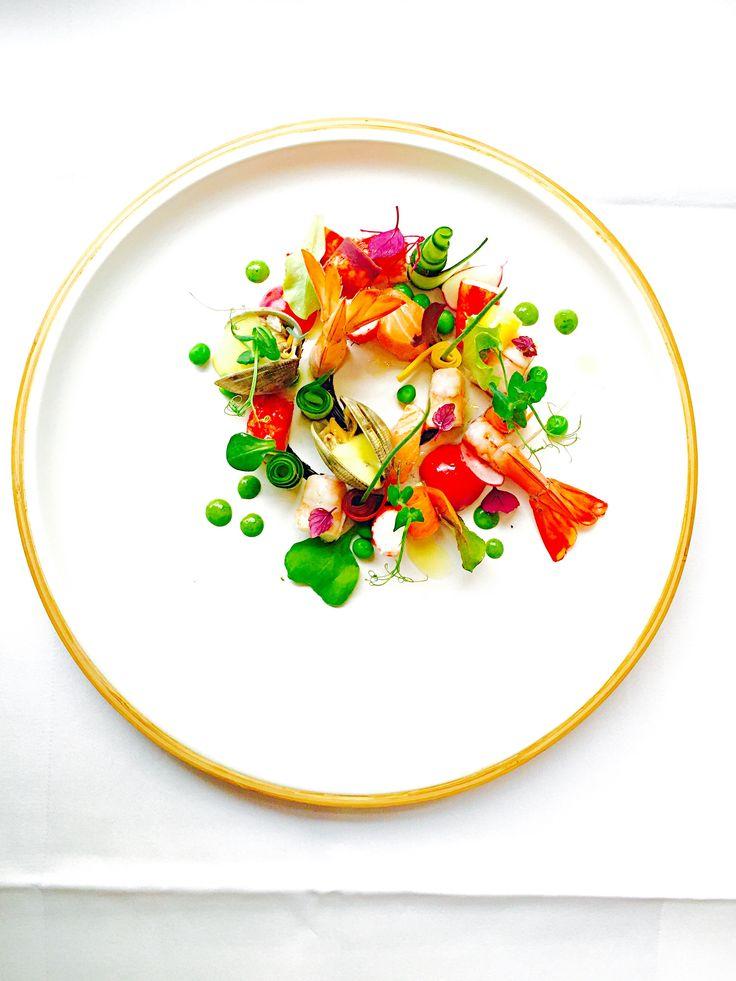 Shrimp Clams King Crab Salmon Peas Zucchini Carrots Lemon Grass Mayo Food Images