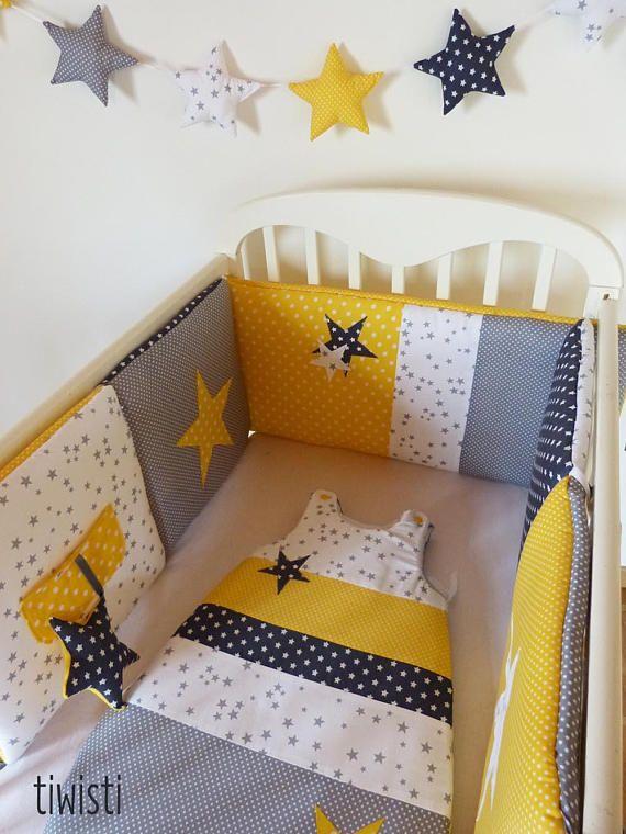 10 best d coration chambre b b mint vert eau jaune gris. Black Bedroom Furniture Sets. Home Design Ideas