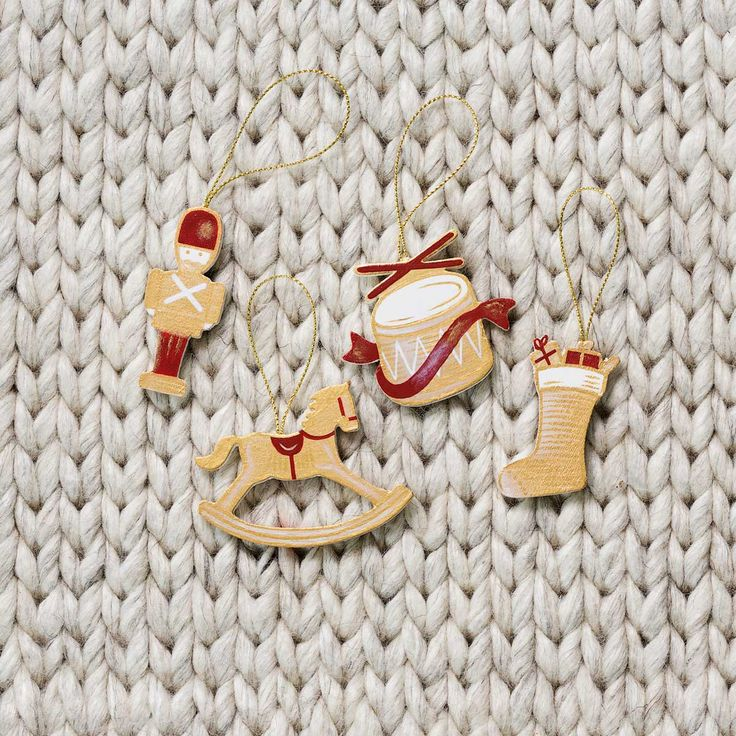 Cute wooden Christmas decorations  http://www.haighschocolates.com.au/chocolates/browse/#christmas-collection