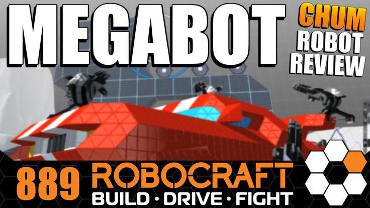 Robocraft Chum Review Mega Car MEGABOT by MeisterShi