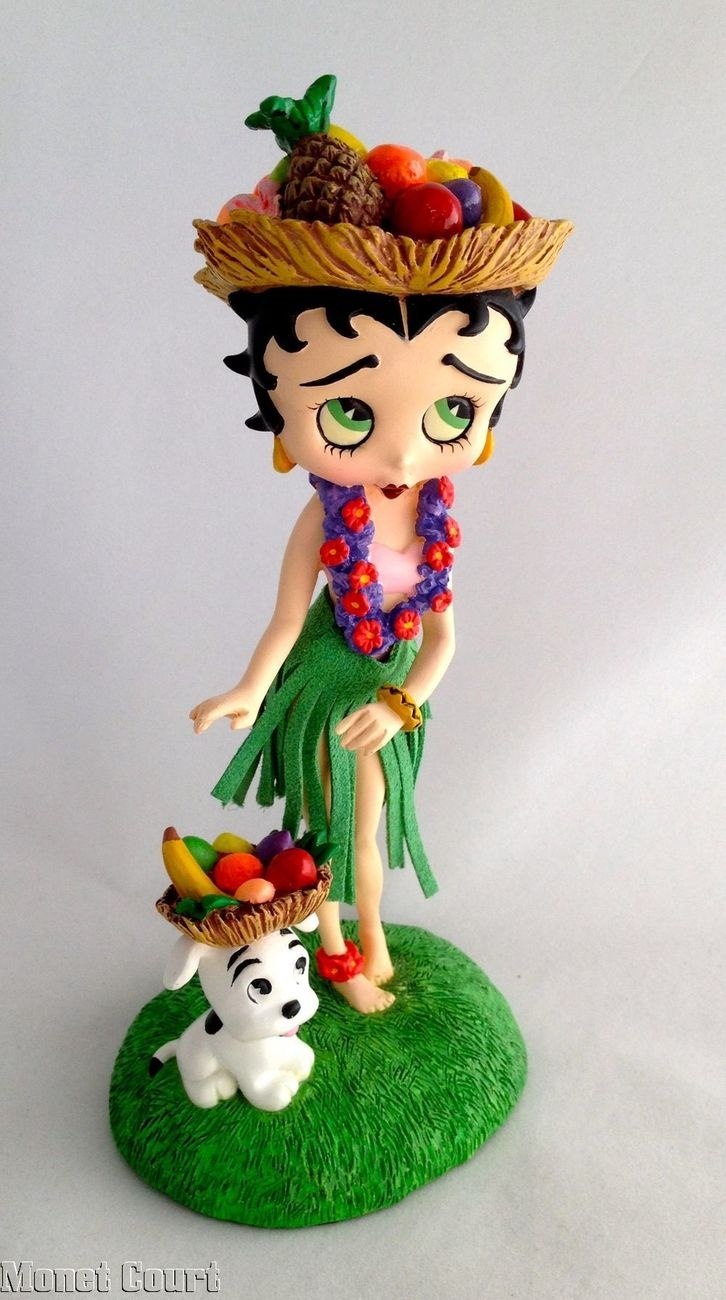 367 best all about betty images on pinterest betty boop bb and betty boop hawaiian holiday danbury mint 1595 geotapseo Image collections