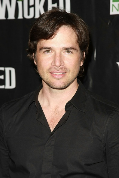 Matthew Settle was my inspiration for David Harris.