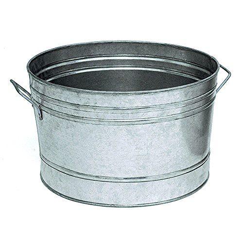 Achla Designs C-50 Round Galvanized Steel Tub Achla