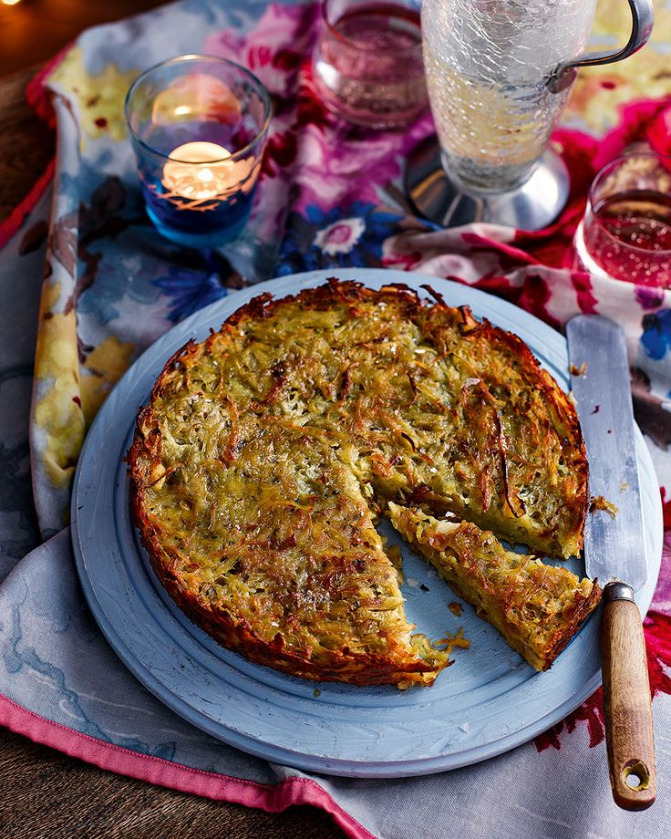 If you thought a potato rösti couldn't get any better, think again. See potatoes in a different light with this giant rösti recipe.