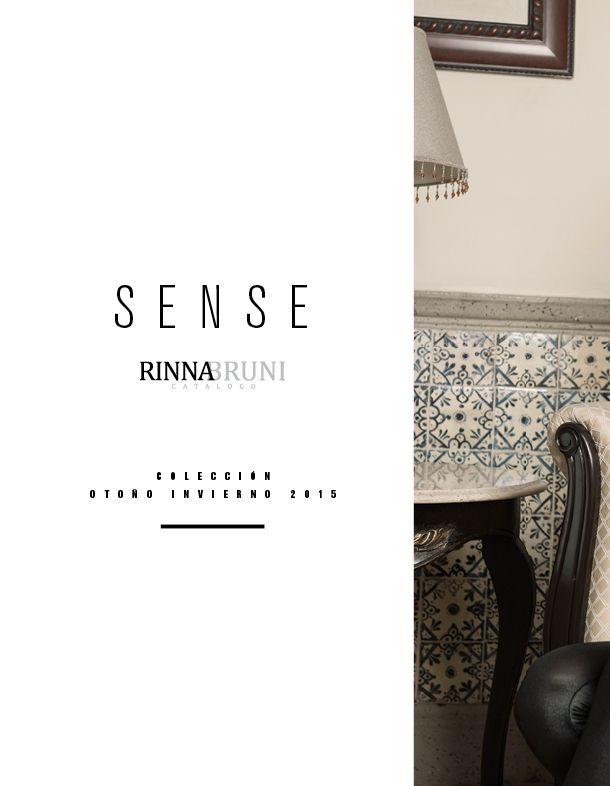 Viste SENSE con Rinna Bruni Otoño Invierno 2015.