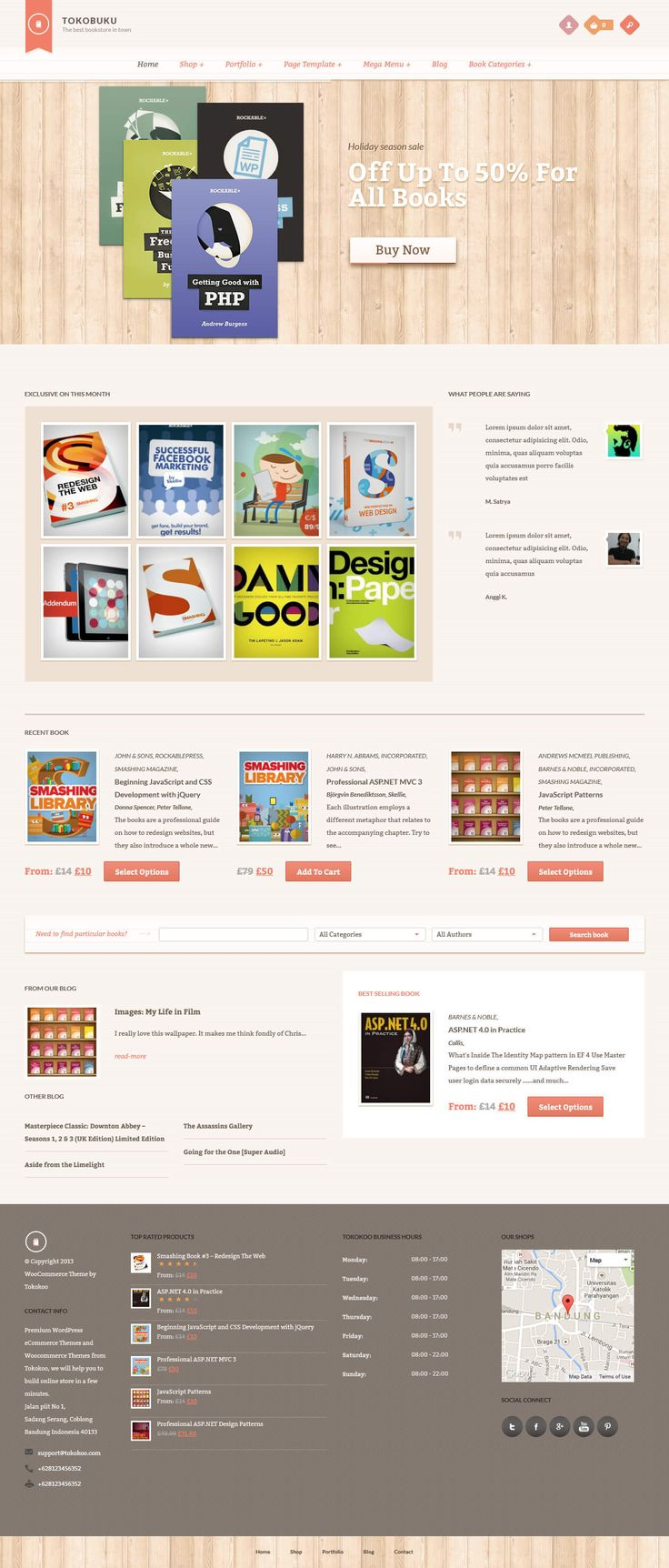 RaakBookoo - WordPress Theme for Authors, eBooks, Digital Downloads Click the link to DEMO | DOWNLOAD NOW