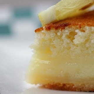 Lemon Cake Pie-  Can't wait to try this!