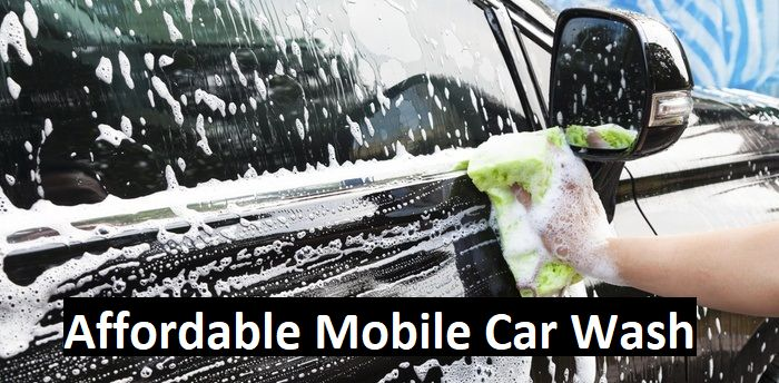 Get a suplendid and Affordable Mobile Car Wash services in your home town