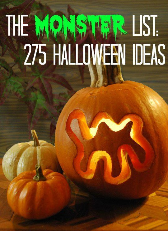 The MONSTER List: 275 Halloween Ideas | Apartment Therapy