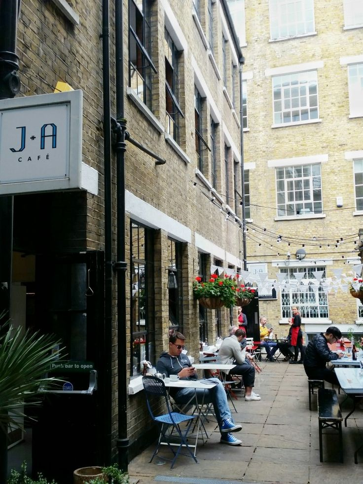 J+A Cafe, London