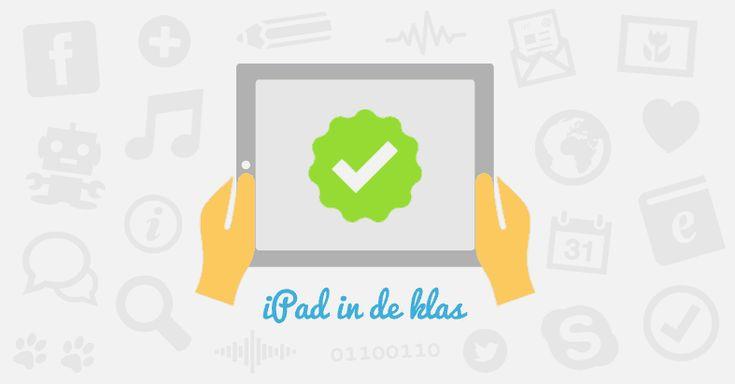Wat kan je als leraar met een iPad doen in de klas? Hier is een lijst van 12 tips over hoe je een iPad in de klas kan gebruiken.