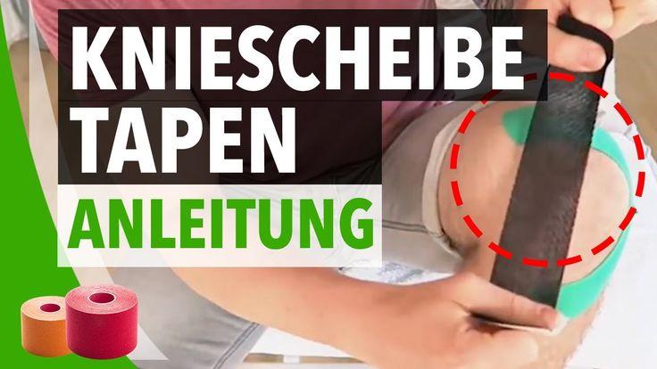 Kniescheibe Tapen Anleitung - Kinesiology Tape Anleitung Kniescheibe - Knie richtig tapen - BodyTape