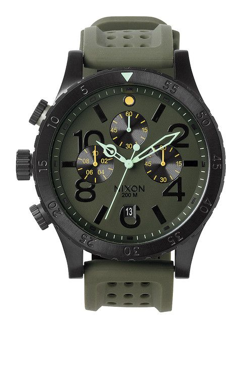 The 48-20 Chrono P - Surplus / Black | Nixon