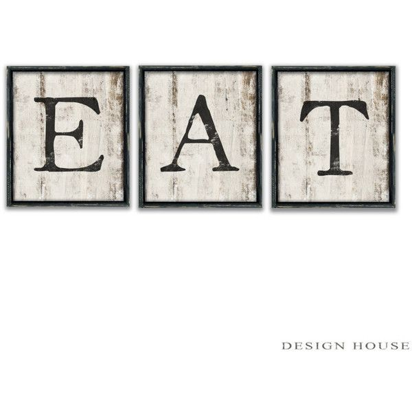 Wall Art Signs Kitchen : Eat kitchen signs restaurant