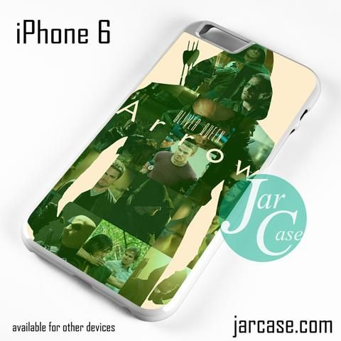 Oliver Queen Arrow Phone case for iPhone 6 and other iPhone devices