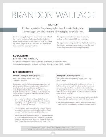 16 best RESUME DESIGN images on Pinterest Design resume, Page - videographer resume